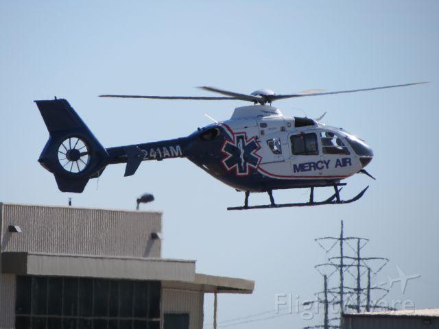 N241AM — - Mercy Air landing at KCRQ.