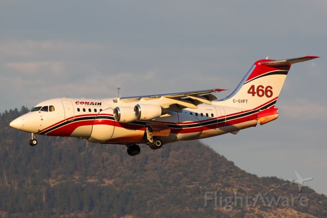 Avro Avroliner (RJ-85) (C-GVFT)