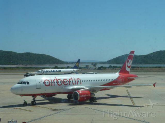 — — - Tarmac at Ibiza airport.