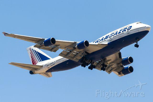 Boeing 747-400 (EI-XLI) - hot egyptian sun