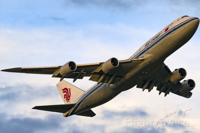 BOEING 747-8 (B-2480) - very rare, no gears visible