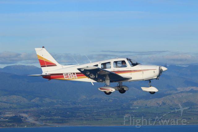 Piper Cherokee (ZK-EBH) - Leaving the Manawatu en route NZOM