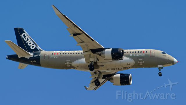 Bombardier CS100 (C-GWYD) - This is a brand new out of the factory CS-100 conducting test flights over Kansas.