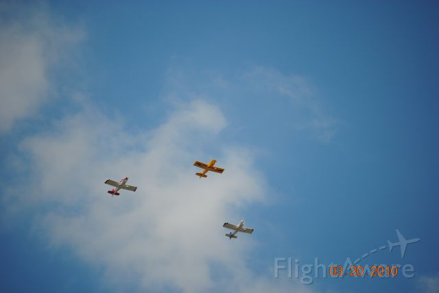 AII AVA-202 (N515DB) - I cought these flying over my house today. One of the pilots flys for Delta Airlines.
