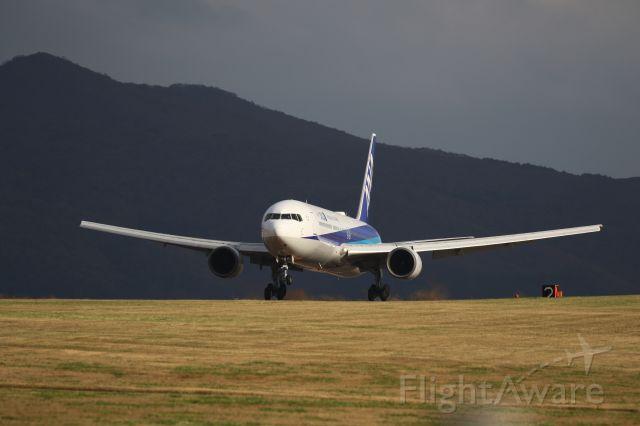 BOEING 767-300 (JA609A) - October 27th 2018;HND-HKD.