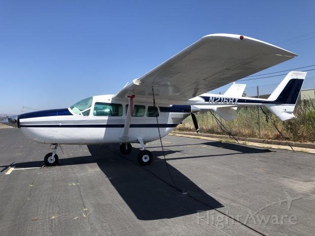 Cessna Super Skymaster (N2168X) - At KSEE