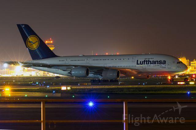 Airbus A380-800 (D-AIMC) - with a Lufthansa-Leo