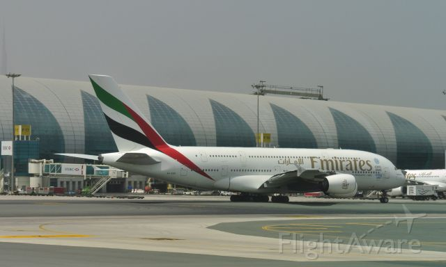 Airbus A380-800 (A6-EDD) - Emirates Airbus A380-861 A6-EDD in Dubai
