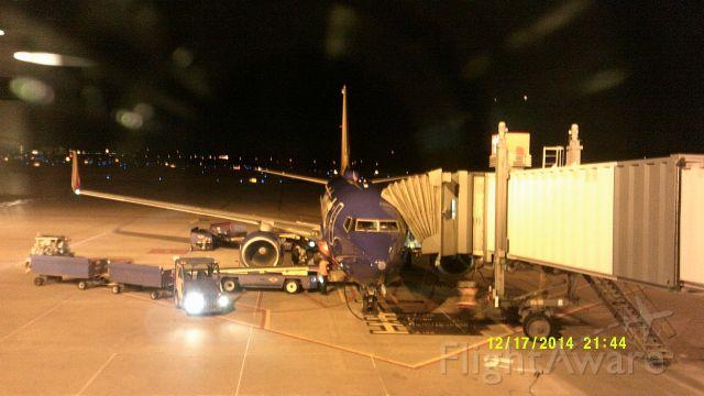 Boeing 737-700 (N7711N) - A Southwest 737-700 at Pittsburgh.