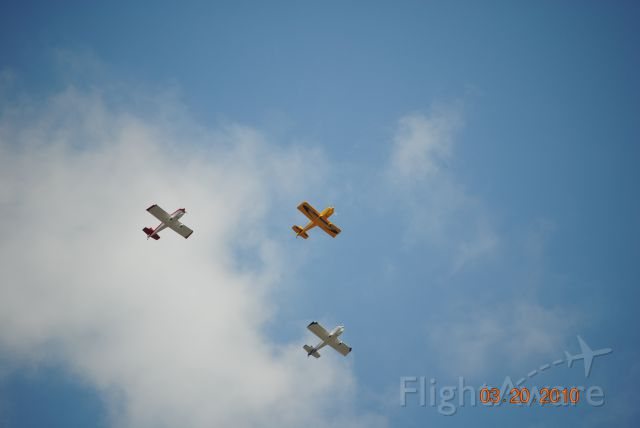 AII AVA-202 (N515DB) - I caught these flying over my house.