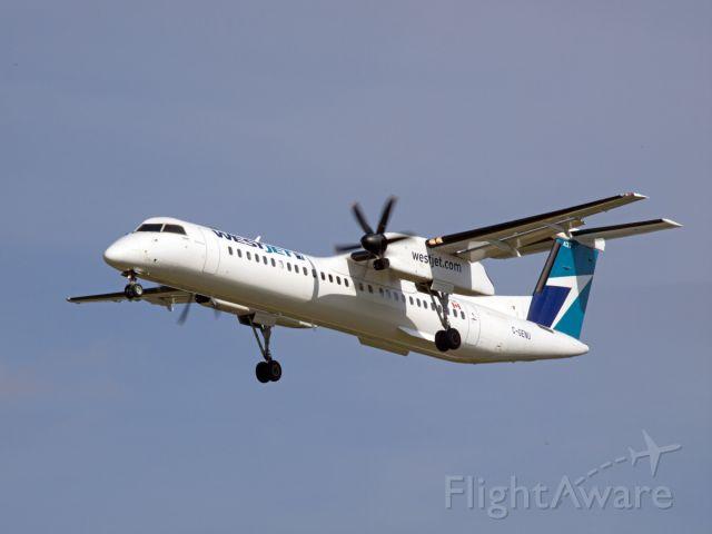 de Havilland Dash 8-400 (C-GENU) - Spotting at CYWG / Winnipeg.