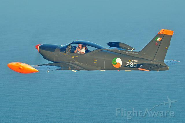SIAI-MARCHETTI Warrior (N230AP) - Photo session over Atlantic Ocean.