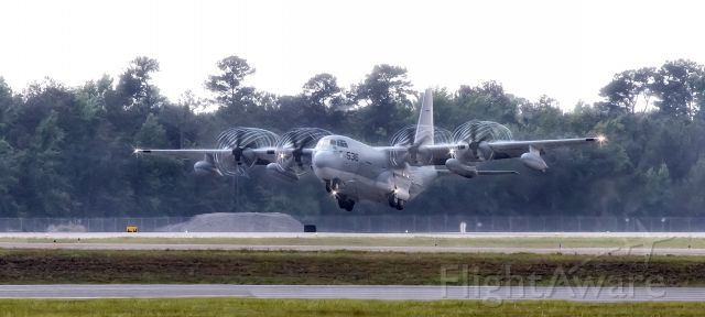 """Lockheed C-130 Hercules (16-9536) - From Marine Aerial Refueler Transport Squadron 452 (VMGR-452). The squadron, known as the """"Yankees"""", is stationed at Stewart Air National Guard Base, New York."""