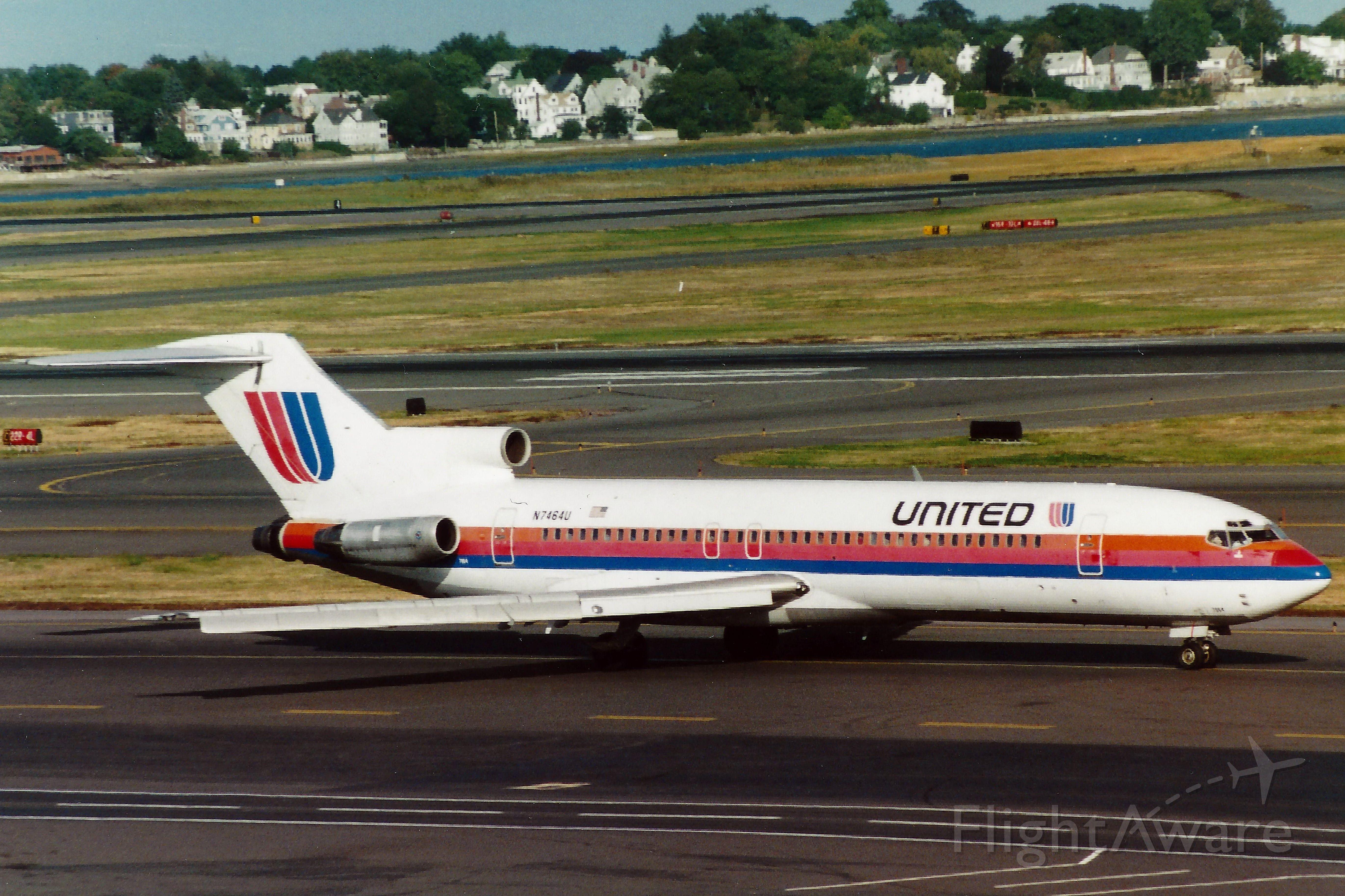 BOEING 727-200 (N7464U) - From 09/28/1997