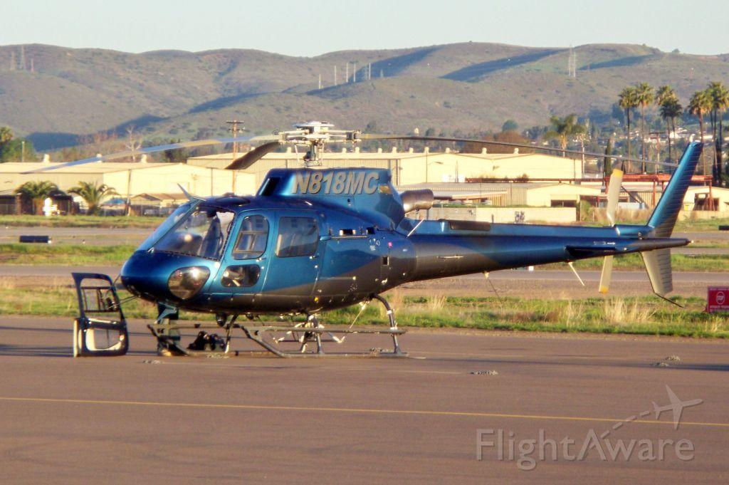 Eurocopter AS-350 AStar (N818MC)