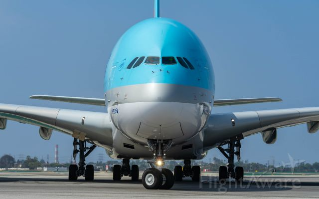 Airbus A380-800 — - 8/17/18