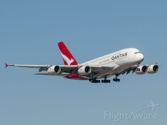 Airbus A380-800 (VH-OQC) - 2/8/2020
