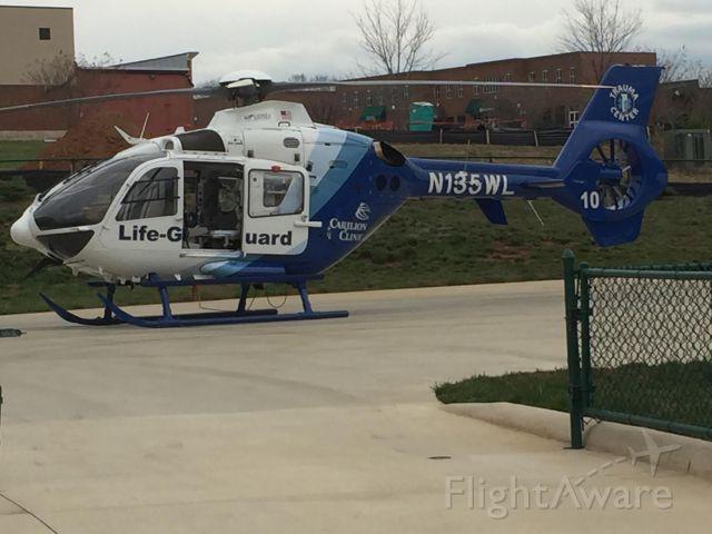 N135WL — - At Smith Mountain Lake medical heliport.