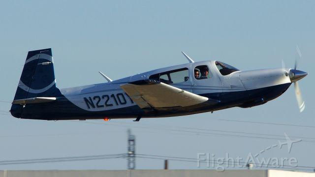 Mooney M-20 (N2210Y) - 22 departure.<br />Jan. 13,2021