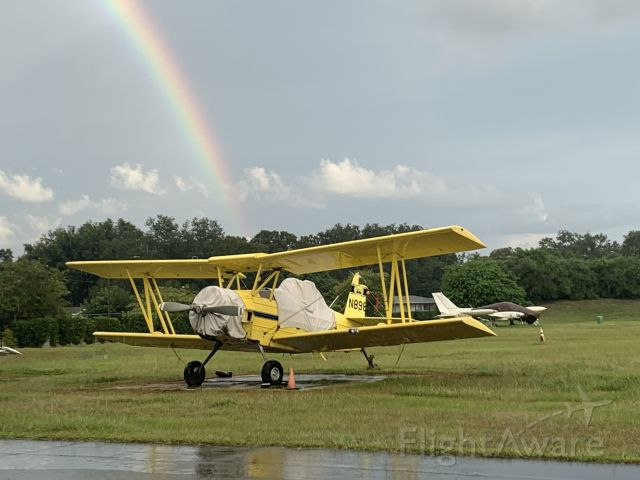N898OH — - Pot of Gold, oh all right it's YELLOW, at the end of the rainbow. It's sits in front of my hanger and I maintain it.