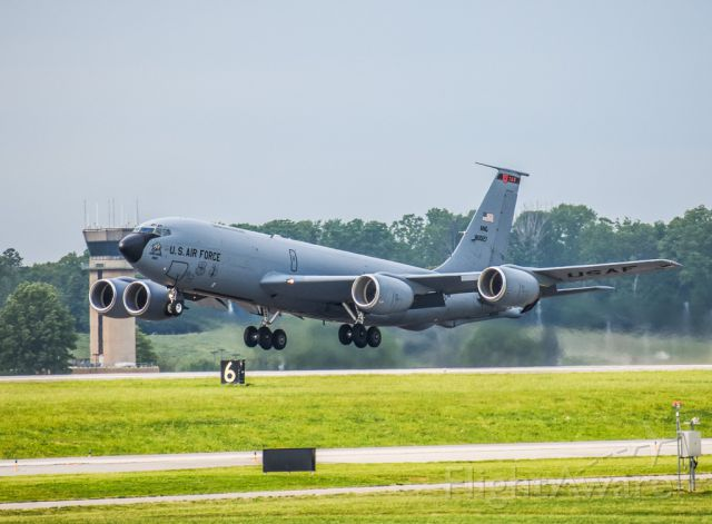 Boeing C-135FR Stratotanker (58-0027) - Utah in Knoxville?? Awesome catch!