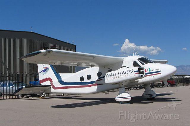 — — - Mystery Airplane #1.  Answer: Dornier Do-28 Skyservant.   Photo: William Word