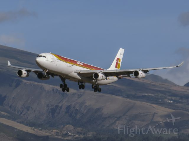 Airbus A340-300 (EC-GJT) - Arriving from MAD