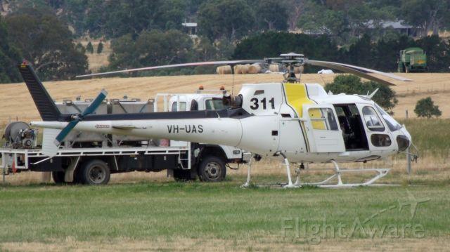 Eurocopter AS-350 AStar (VH-UAS)