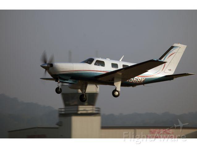 Piper Malibu Mirage (N456BK) - Take off runway 08 at Danbury CT.