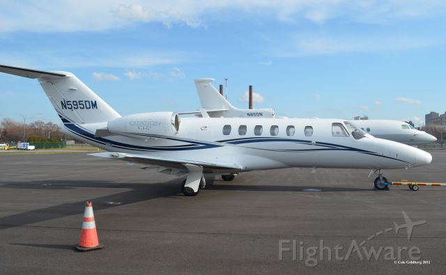 Cessna Citation CJ2+ (N595DM) - Built in the year 2000, this Cessna 525 Citation CJ1 is registered to Dynamic International of Wisconsin Inc, located in Pewaukee, Wisconsin. Please look for more photos at Opshots.net