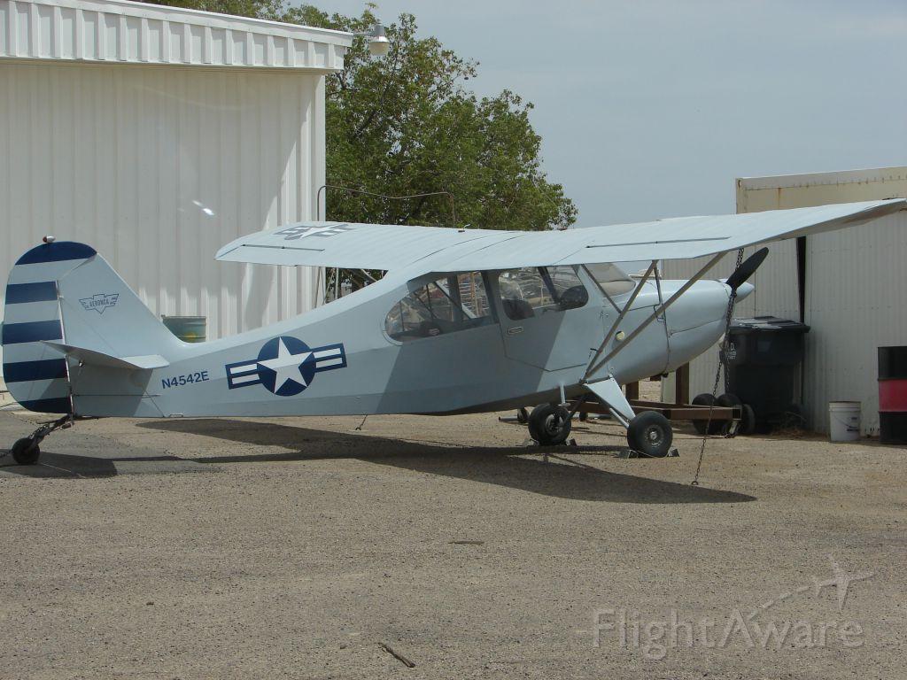 N4542E — - Aeronca Champion at Eloy 6-2-2007