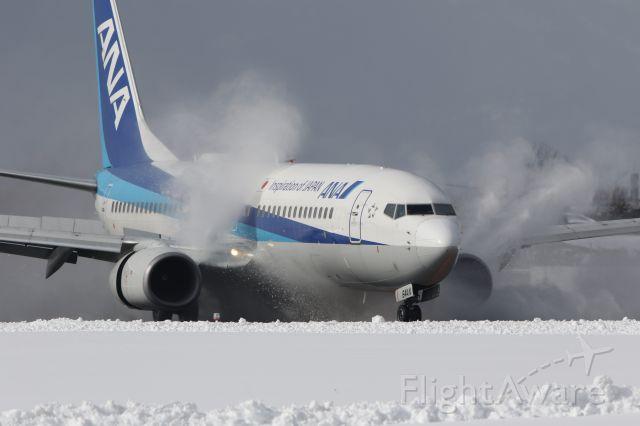 Boeing 737-800 (JA64AN) - February 4th 2018:ITM-HKD.