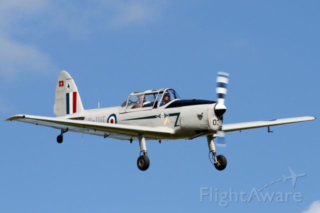SUPER-CHIPMUNK Super-Chipmunk (HB-TUT) - De Havilland Canada DHC-1 chipmunk