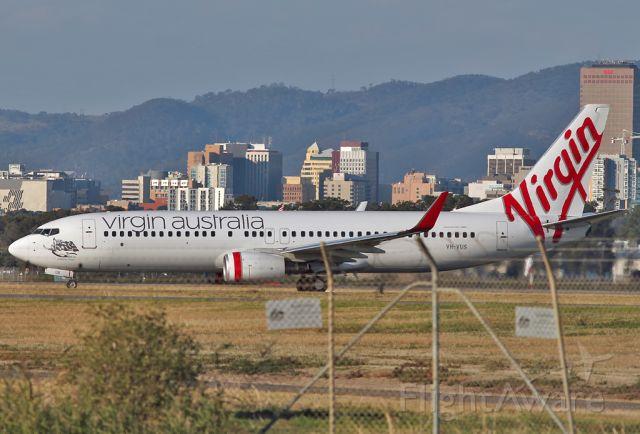 Boeing 737-800 (VH-VUS) - VIRGIN AUSTRALIA AIRLINES - BOEING 737-8FE - REG VH-VUS (CN 36607/3082) - ADELAIDE INTERNATIONAL AIRPORT SA. AUSTRALIA - YPAD (30/4/2015)