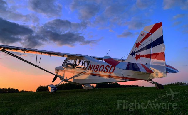 CHAMPION Decathlon (N180SD) - Picture by Jayson Chappell.