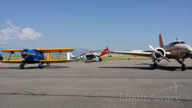 — — - Fly-in at KBJC yesterday.