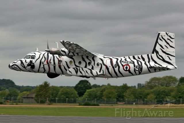 NORD Mohawk 298 — - French Navy N262 departing RIAT
