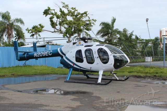 MD HELICOPTERS MD-600N (N209EC) - Guaynabo,PR