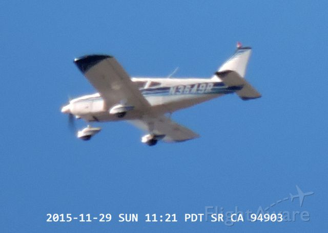 Piper Cherokee Arrow (N3649R) - 2015-11-29 SUN 11:21 PDT SR CA 94903