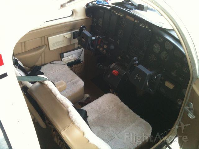 Cessna 310 (N8177M) - New interior, avionics and yokes