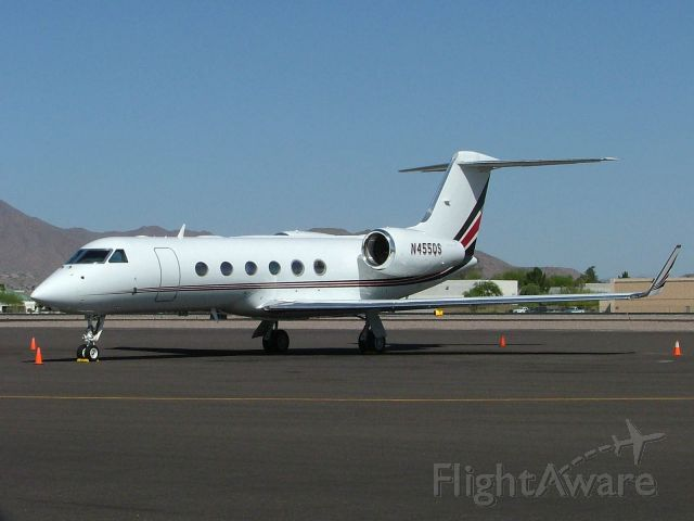 Gulfstream Aerospace Gulfstream IV (N445QS)