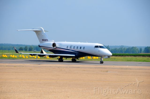 PEREGRINE PJ-3 Falcon (N530FX) - Flexjet  stopping in to pick up Briggs & Stratton VIP