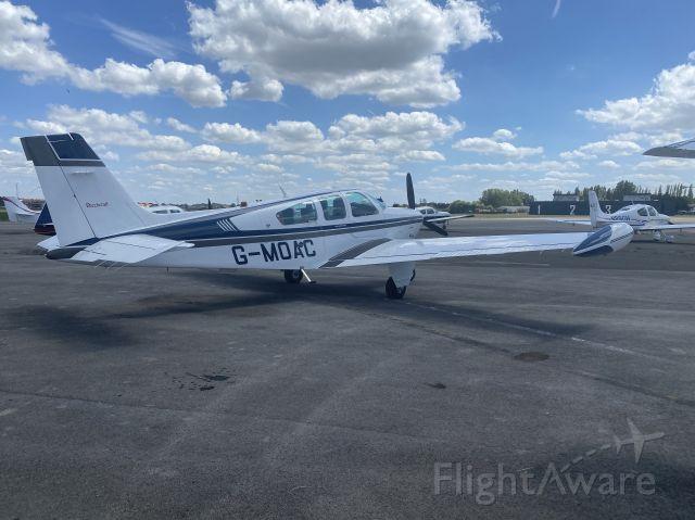 Beechcraft Bonanza (33) (G-MOAC) - 20 JUL 2020