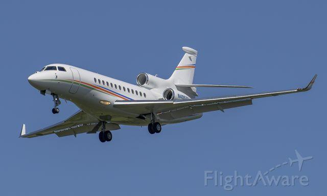 Dassault Falcon 7X (N495ZC) - Runway 20R arrival @KDPA.