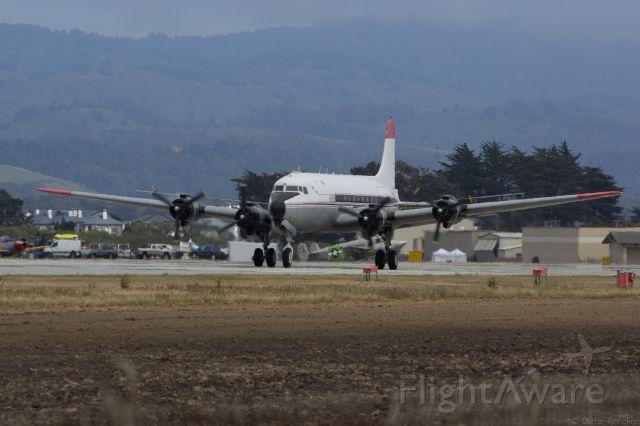 Douglas C-54 Skymaster (N460WA) - Dream Machines Event at KHAF