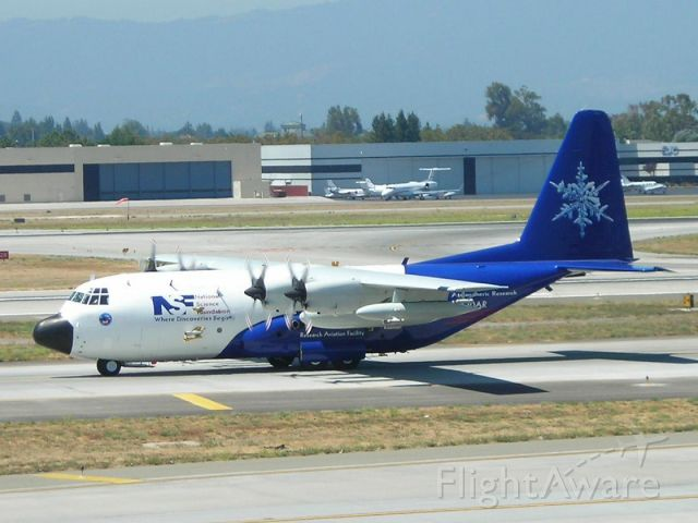 Lockheed C-130 Hercules — - Preparing for SJC-HNL