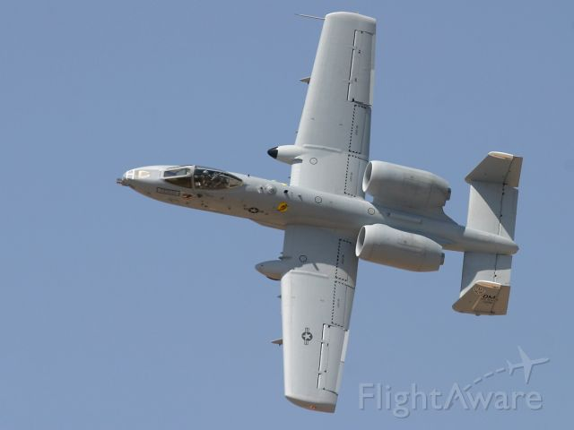 Fairchild-Republic Thunderbolt 2 — - An A-10 Warthog banks steeply.