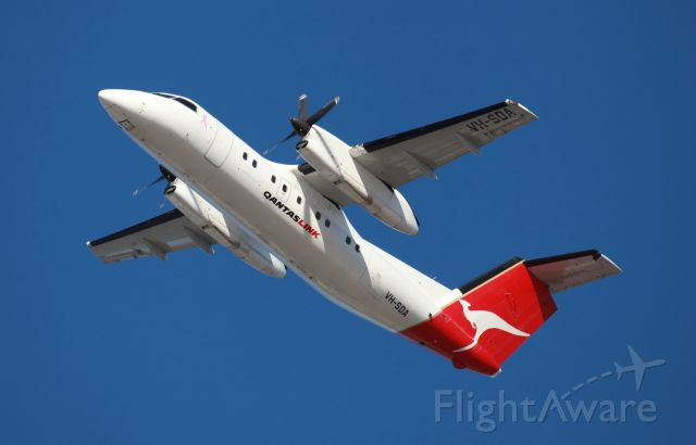 VH-SDA — - Departing 34L