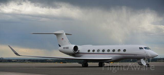 Gulfstream Aerospace Gulfstream G650 (N914BD) - perfect day