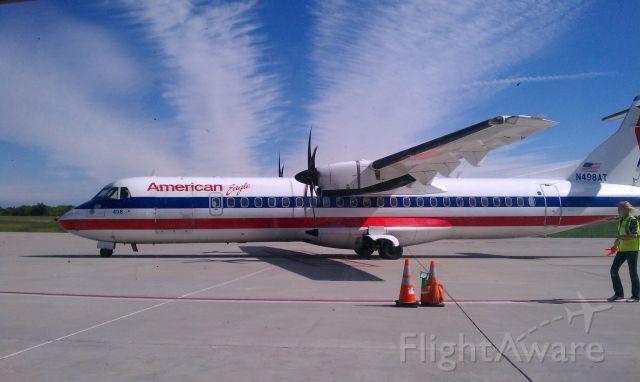 ATR ATR-72 (N498AT) - Photo from 09/2011